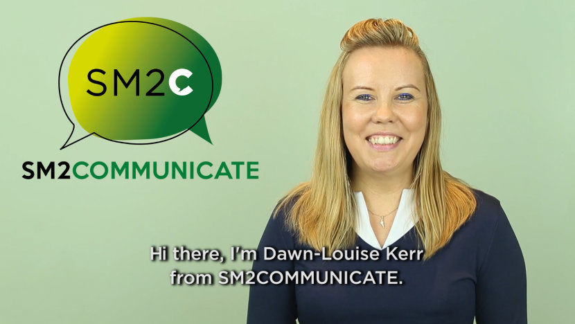 SM2COMMUNICATE Landing page video